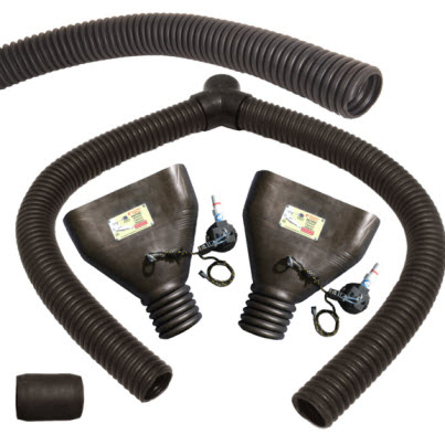 "DSS675-SC 3"" Kit with F675-SC's for Flush Mount Tailpipes"