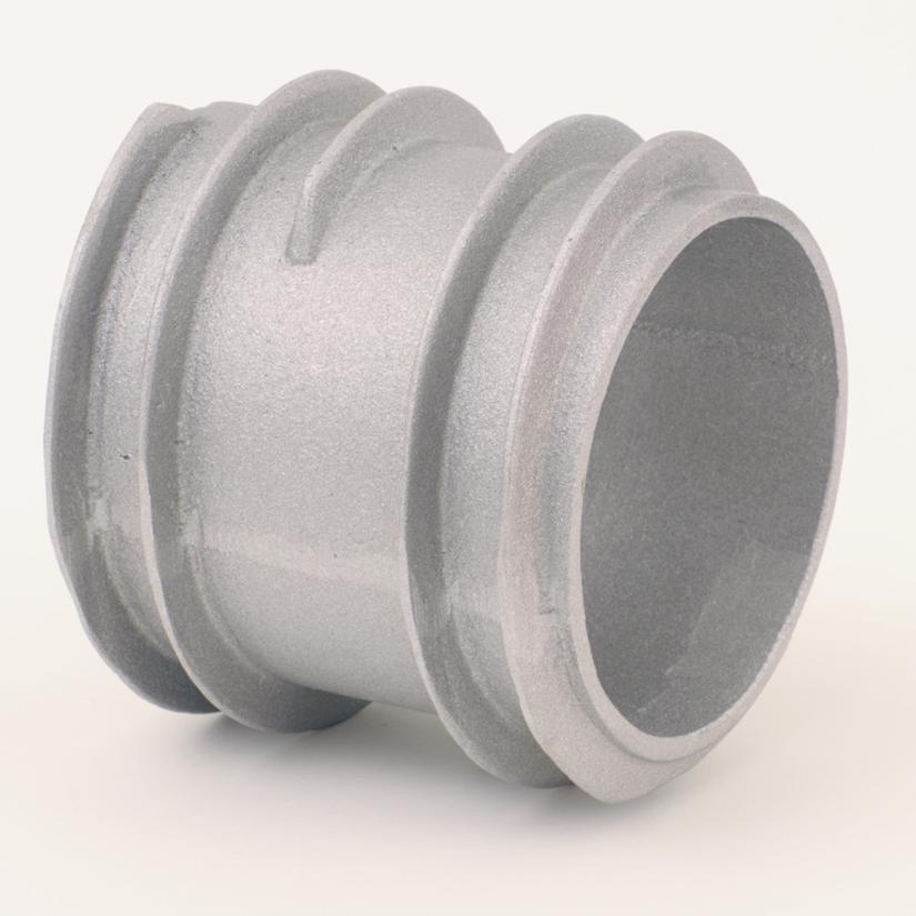 AC40 Aluminum 4″ Hose External Threads