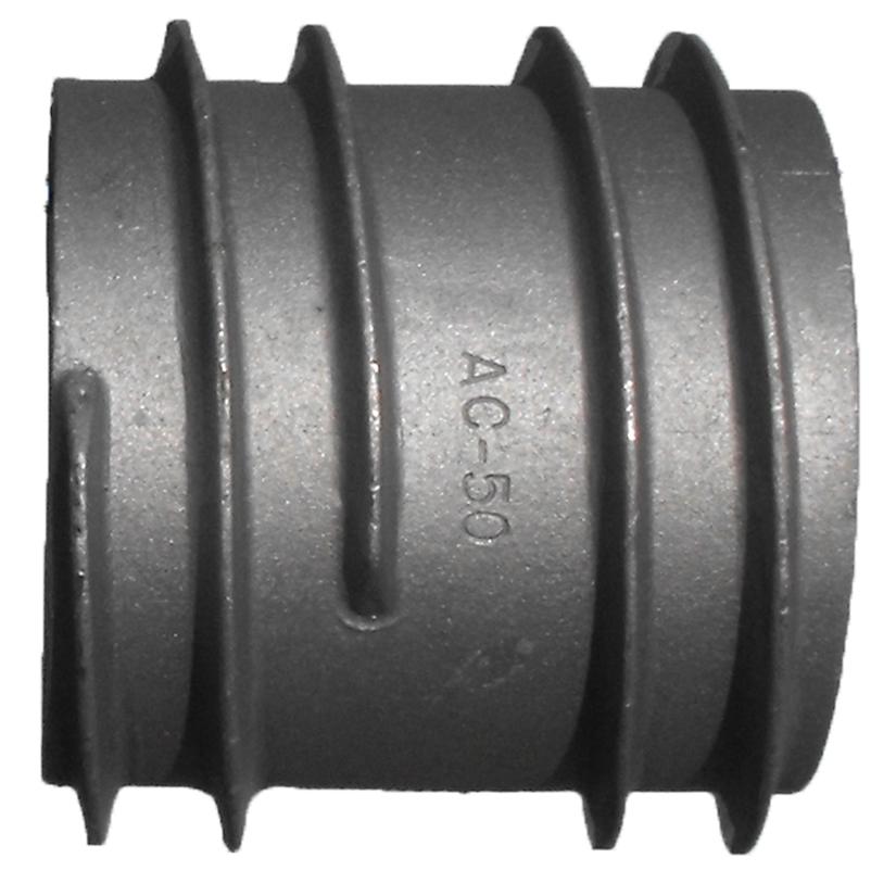 AC50 Aluminum 5″ Hose External Threads