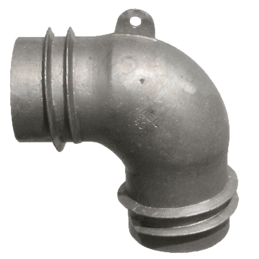 AEL40 Aluminum Elbows Fits 4″ Hose