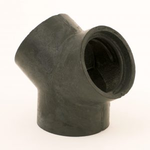 Image of RY20 garage exhaust hose y connector.