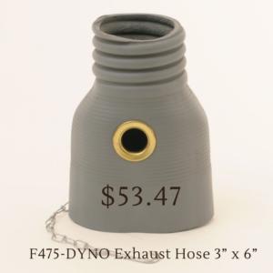 F475-DYNO Exhaust Hose