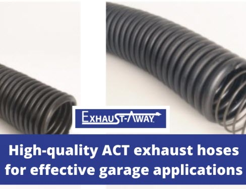 What Makes Exhaust-Away's Act Hoses Ideal for Your Vehicle Repair Facility?