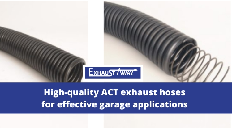 High Quality ACT Exhaust Hoses Exhaust-Away